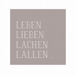 Lieben Leben Lachen : r der online shop serviette leben lieben lachen lallen online kaufen ~ Orissabook.com Haus und Dekorationen