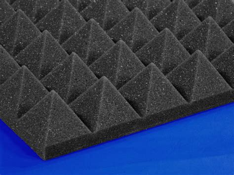 acoustical soundproofing pyramid foam