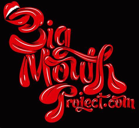 big mouth project luke lucas typographer graphic designer art director