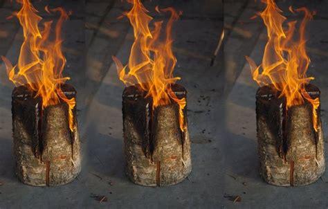 houtfakkel google zoeken fire torch log candles