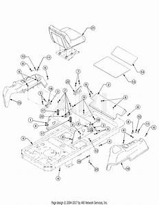 Troy Bilt 17aa5abp766 Rzt 50  2006  Parts Diagram For Operator U0026 39 S Platform