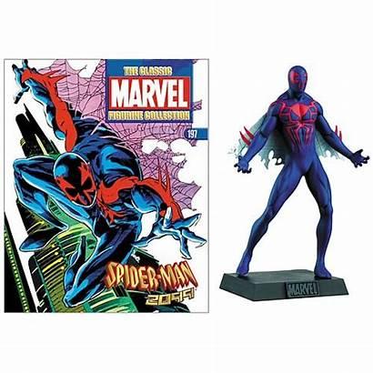 2099 Spider Figure Magazine Collector Figures Spiderman