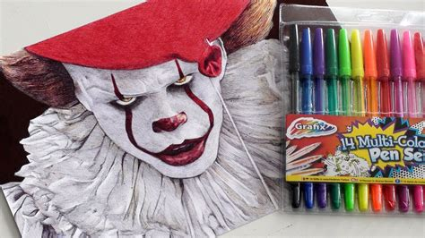 Pennywise Pen Drawing (it 2017)