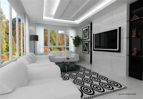 inspirasi desain ruang tamu modern bergaya minimalis