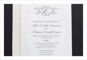 free wedding sle kits free wedding invitation templates cyberuse