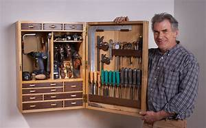 Woodshop Tool Cabinets Plans DIY Free Download reception