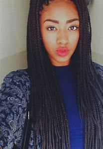 Box braids | boho box braid | Pinterest