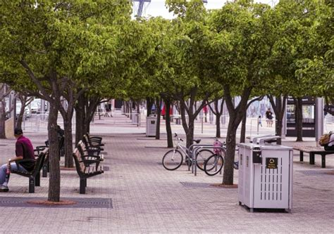 parks  backyards smart street furniture