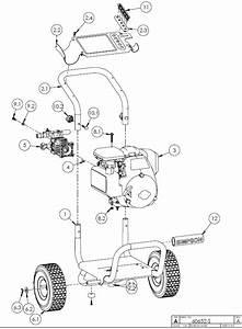 Simpson U00ae Ms31025ht Pressure Washer Parts  Accessories