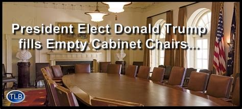 These Are Donald Trump's Cabinet Appointments And