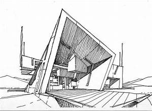 223 best Architectural Sketches images on Pinterest ...