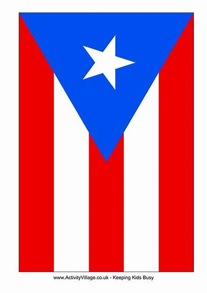 Puerto Rico Flag Template Printable Flags Country