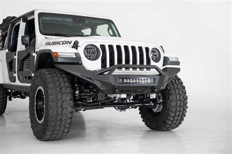 jeep jljt rubicon stealth fighter full length front bumper  top hoop addictive