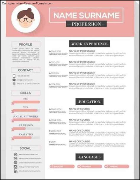 graphic designer resume templates free sles