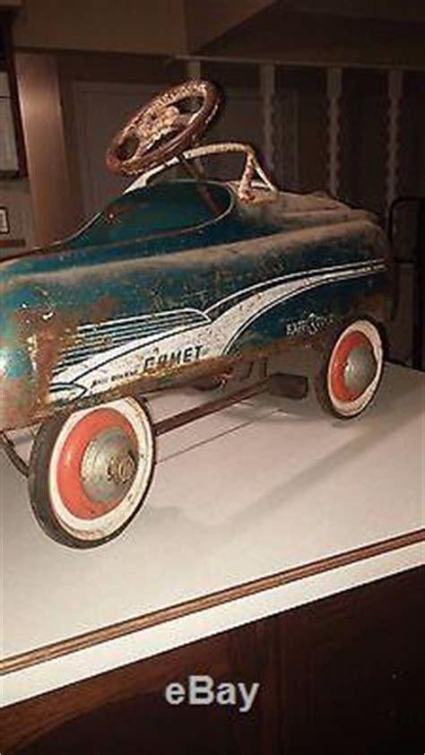 vintage murray pedal car  happi time ball bearing comet