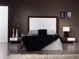 Chocolate brown bedroom ideas, color es para pintar una