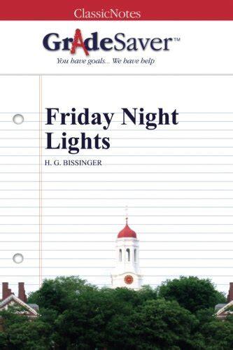 friday night lights sparknotes friday night lights quiz mouthtoears com