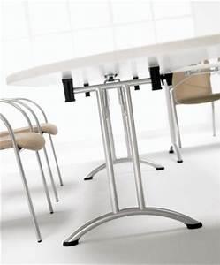 Pied De Table Pliant : table pieds pliants aux docks du bureau buro espace ~ Teatrodelosmanantiales.com Idées de Décoration