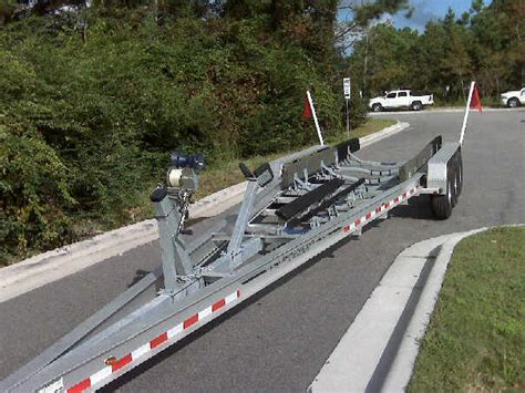 Used Boat Trailer Tri Axle by Wtb 15000lb Tri Axle Aluminum Trailer The Hull