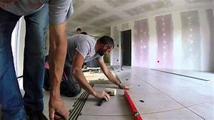 Pose De Plinthe Carrelage : pose du carrelage premi re partie youtube ~ Melissatoandfro.com Idées de Décoration