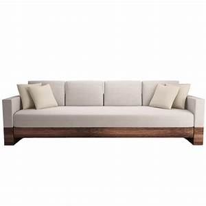 Modern Wood Sofa - Design Decoration