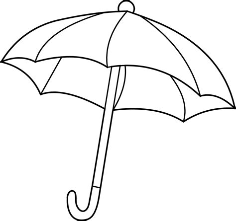 umbrella coloring pages getcoloringpagescom