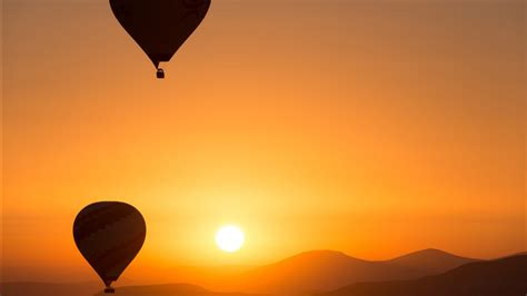 hot air ballons sunrise wallpapers hd wallpapers id