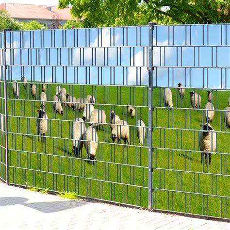 Sichtschutz Garten Ohne Zaun by Baltrum Doppelstabmatten Sichtschutzstreifen Ohne Pvc