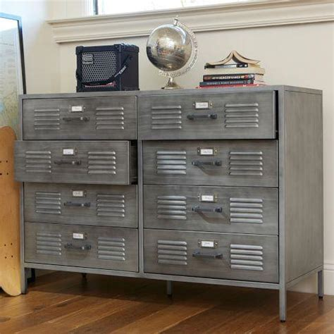 Locker Style Bedroom Furniture by Locker Dresser Pbteen