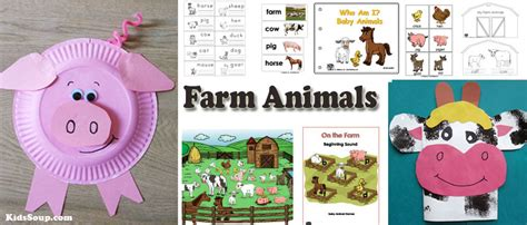 farm animal preschool activities and printables kidssoup 700 | Farm Animals activities preschool