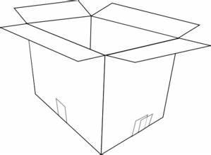 White Open Box Clip Art at Clker.com - vector clip art ...