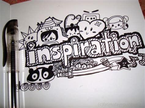 Graffiti Pulpen :  Pengertian Doodle Art