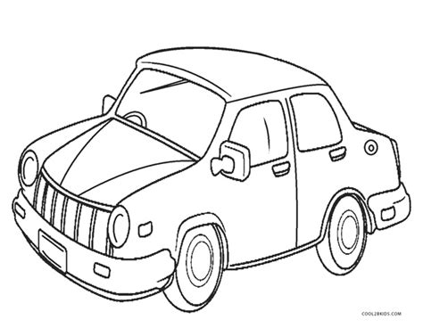 car coloring pages coolbkids