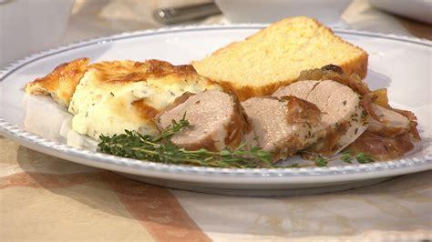 barefoot contessa makes herbed pork tenderloin