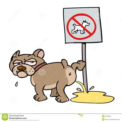 Carpet Dog Urine by Dog On No Dogs Sign Stock Vector Image Of Mean