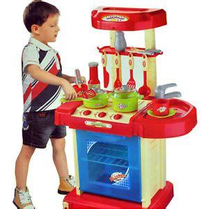 child s kitchen set portable electronic children kitchen cooking boy