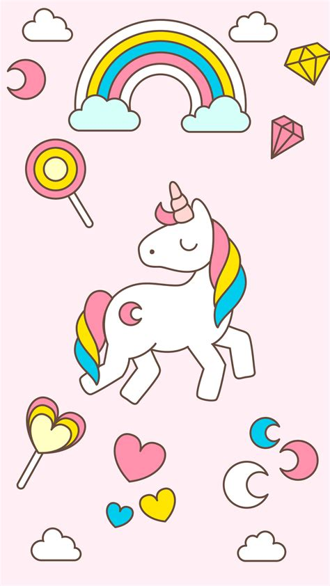 hd cute unicorn wallpaper  android phones