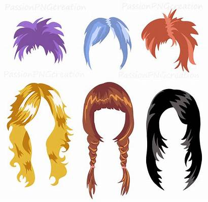 Hair Wig Clipart Wigs Clip Printable Props