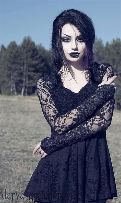 model darya goncharova goth goth girl goth fashion