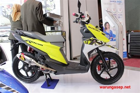 Suzuki Nex Ii Modification by Ragam Modifikasi Suzuki Nex Ii Dan Address Di Imos 2018