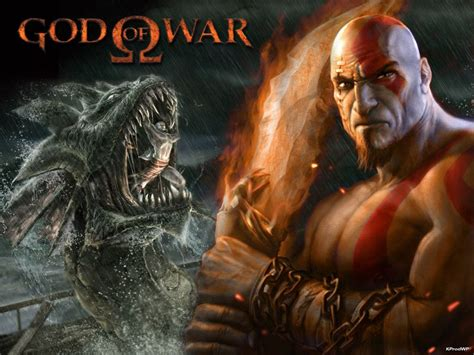 God Of War Playstation Game Series Loosely Based On Greek