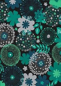 Stoffe Zum Nähen Kaufen : stoff blumen stretch jersey pusteblumen schwarz petrol t rkis ein designerst ck von ~ Buech-reservation.com Haus und Dekorationen