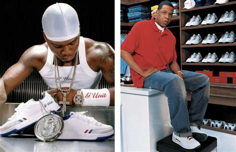 cent   reebok  unit sneakers outsold jay zs
