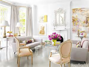 www livingroom decor pink decorating ideas ultra feminine virginia townhouse cool chic style fashion