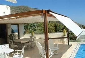 Sonnensegel Für Terrasse : pergola holz mit sonnenschutz ~ Sanjose-hotels-ca.com Haus und Dekorationen