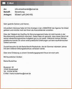 6 anschreiben email bewerbung transition plan templates for Emailanschreiben bewerbung