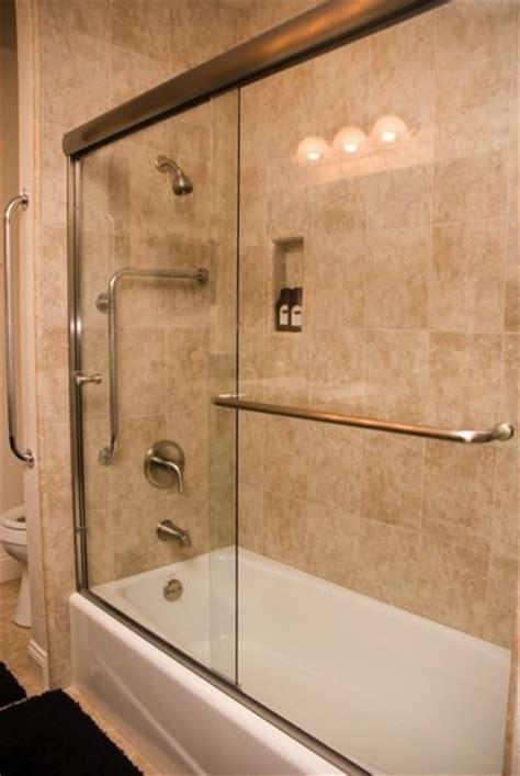 Euro Style Bypass Bathtub Enclosure   Bathroom