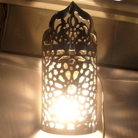 design moroccan wall sconce for home deco