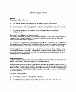 Staff Policy Template Business Employee Reimbursement Policy Templates Sharing Us Templates