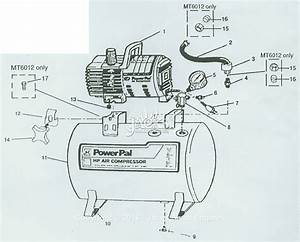Campbell Hausfeld Mt5019 Parts Diagram For Air